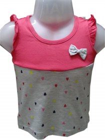 grey and pink color frocks,cotton frocks for small girls, frocks online